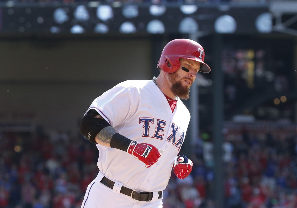 What Mike Napoli's return to Rangers means for Josh Hamilton's hopes of playing first base