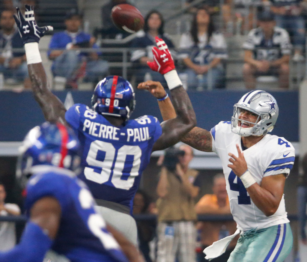 Dallas Cowboys The only way a run at Jason Pierre Paul would make
