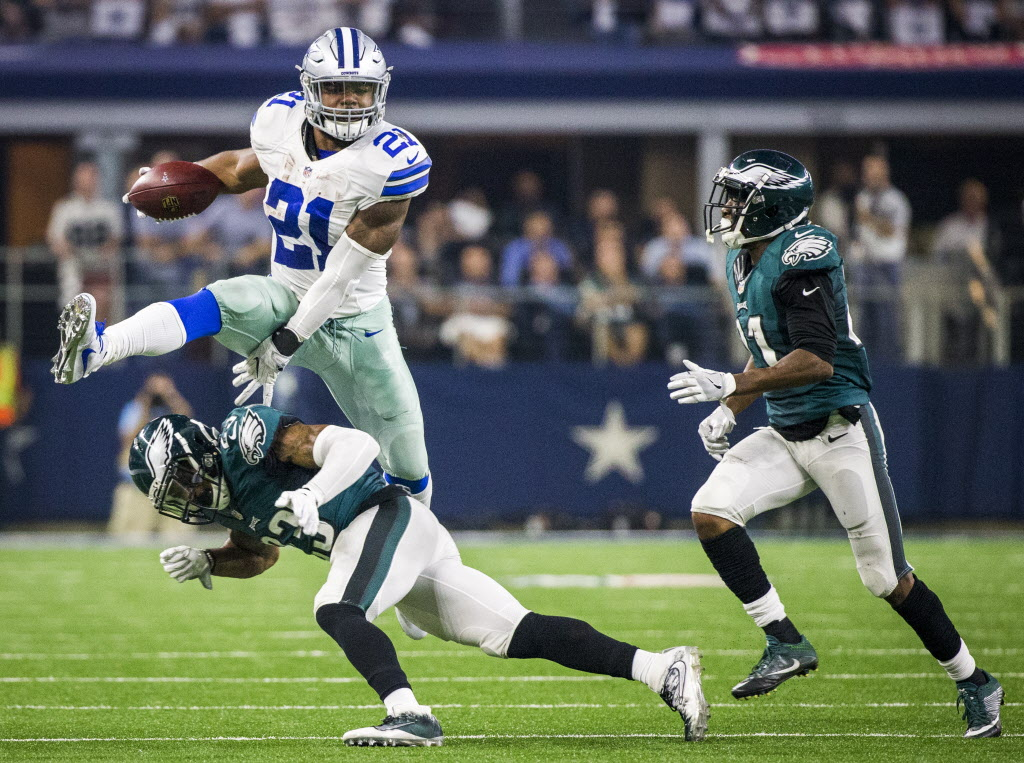 ac7d27c5f Dallas Cowboys: How does Tony Dorsett feel about Ezekiel Elliott hurdling  defenders? 'He needs to stop that' | SportsDay
