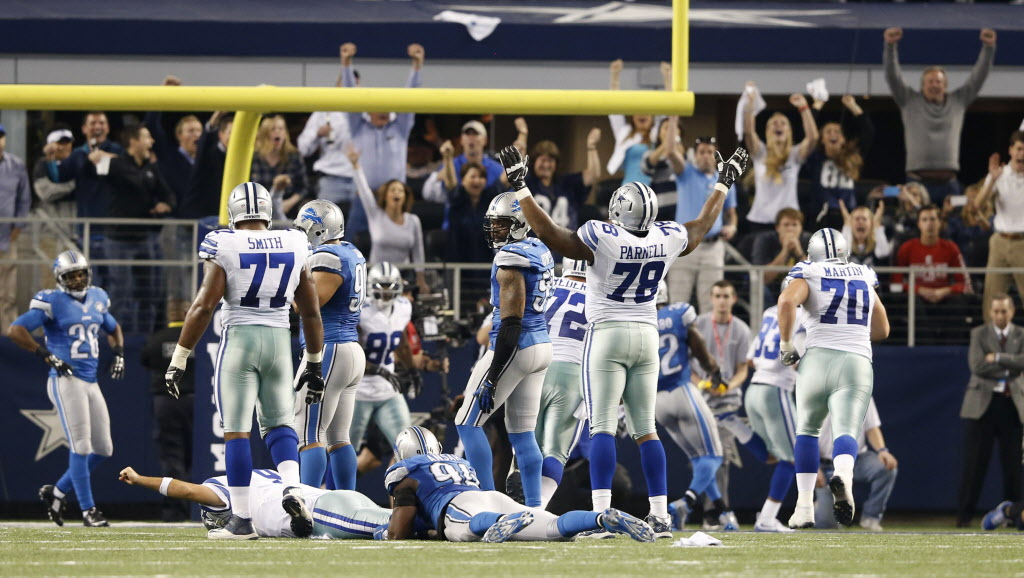 Romo playoff TD