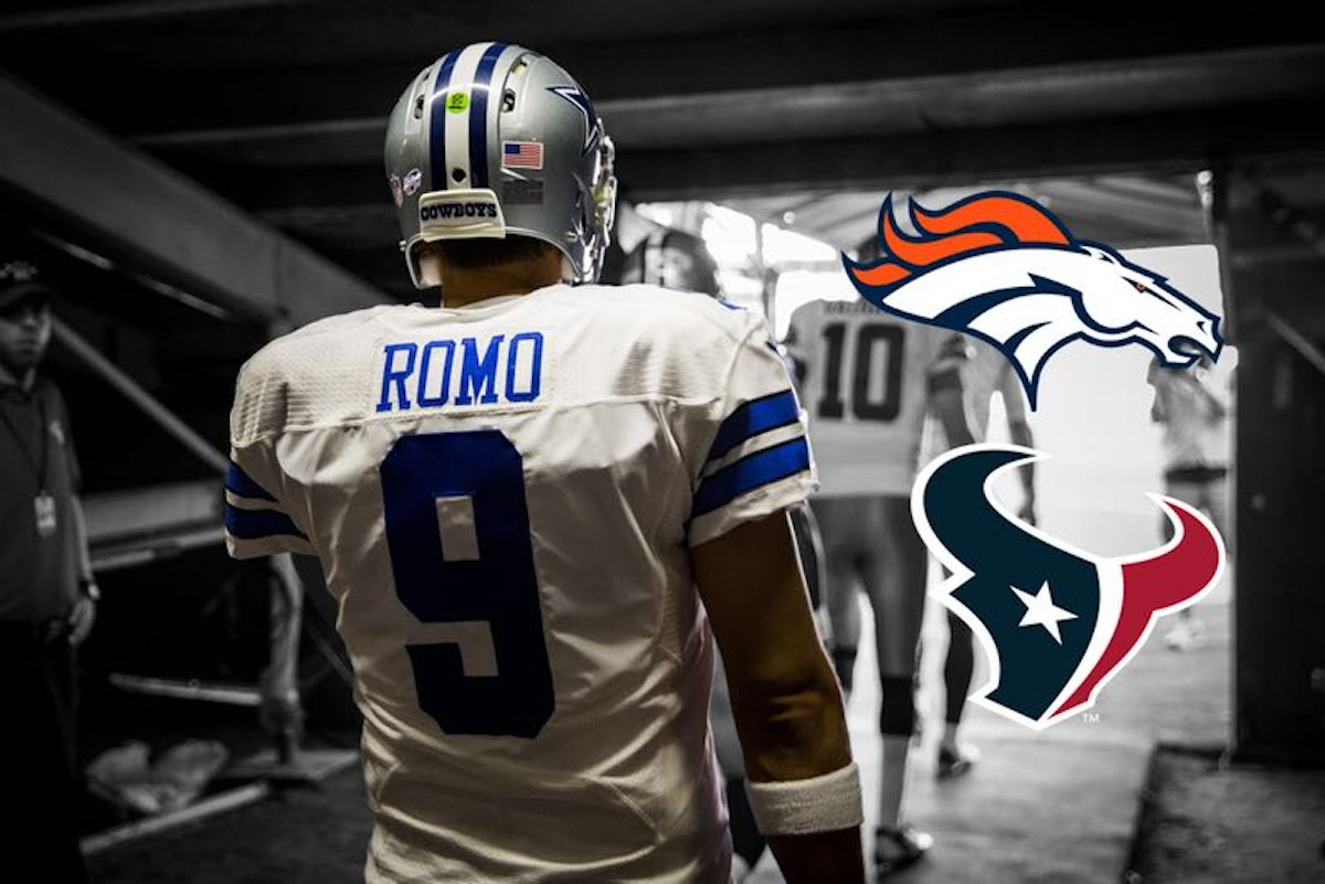 Dallas Cowboys: Could Cowboys trade Tony Romo to Denver or Houston? Follow live as interest, Osweiler trade open doors