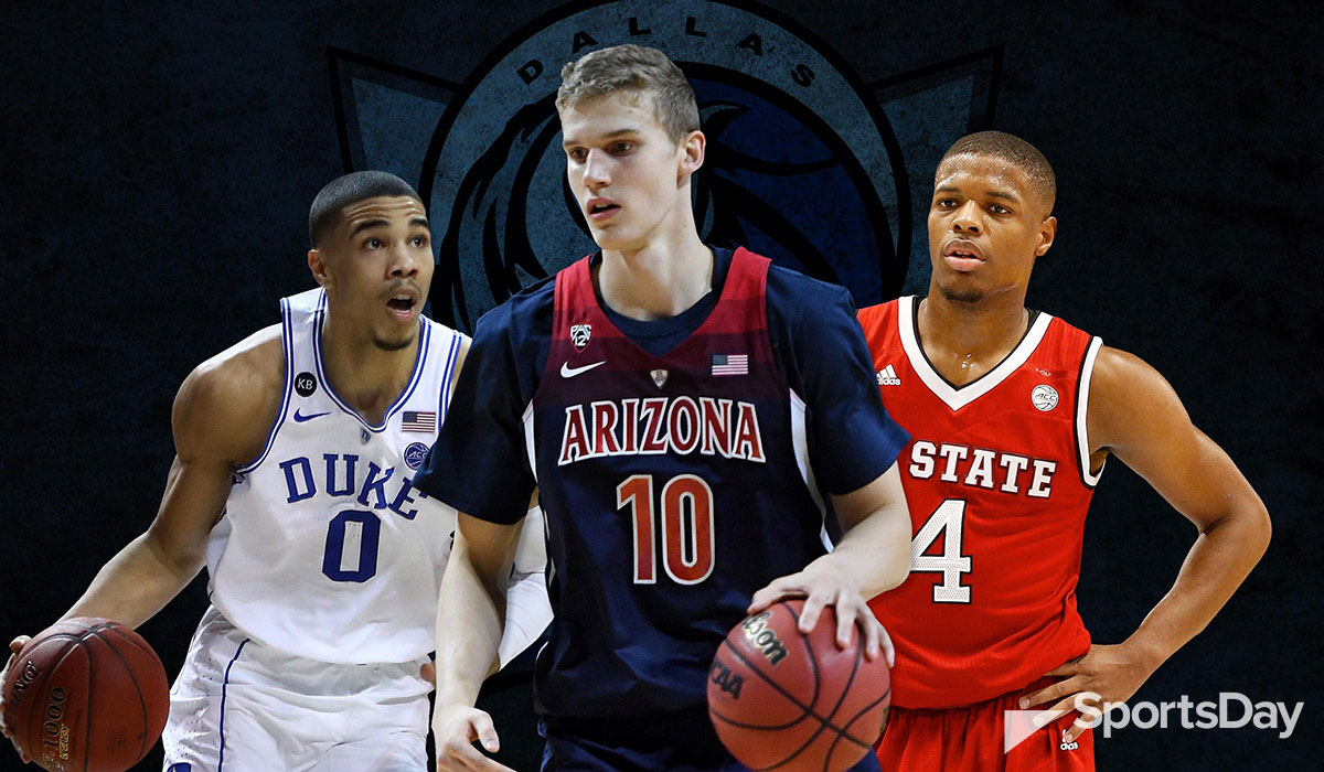 Mavs Mock Draft Tracker