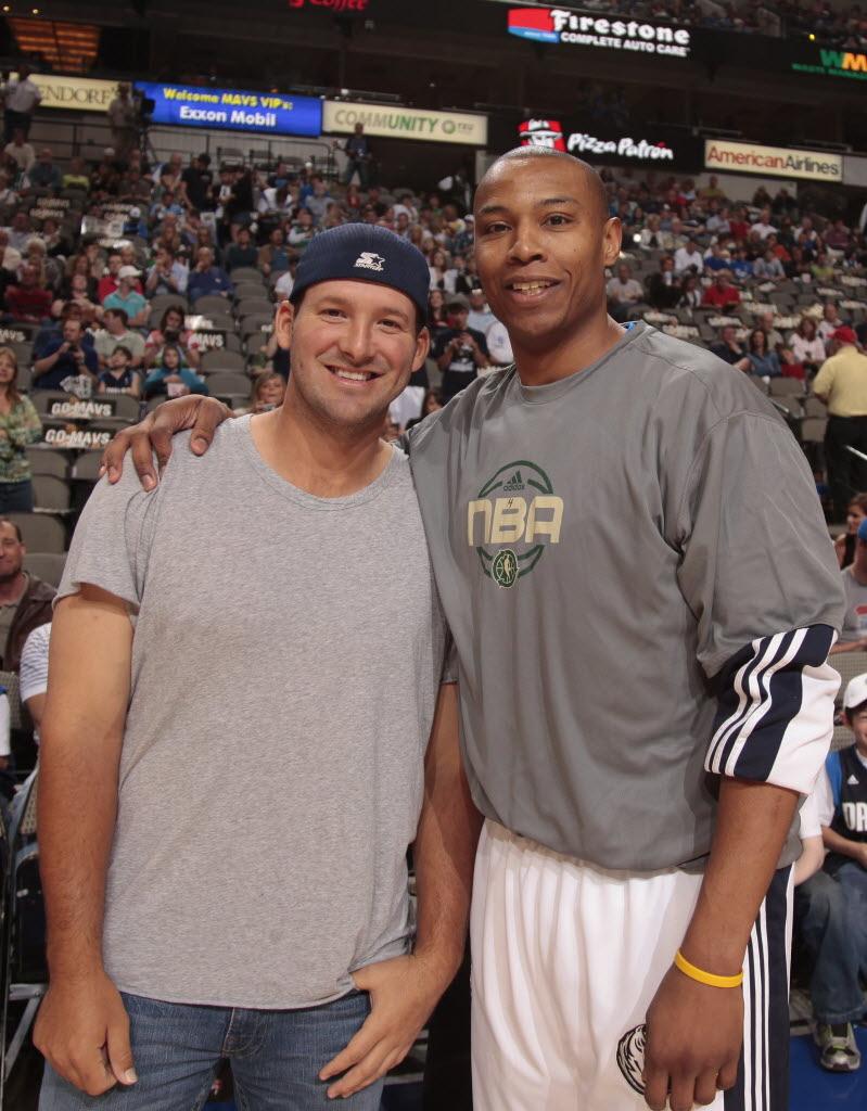 Dallas Mavericks Former Maverick Caron Butler Tony Romo could ve