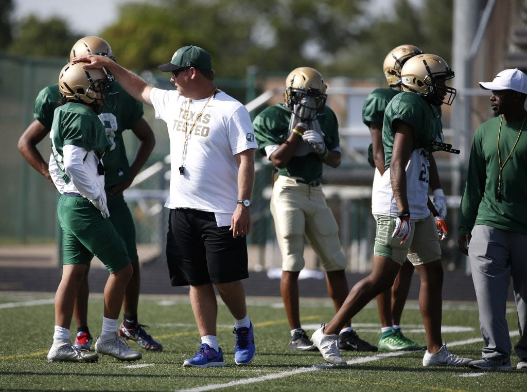 Successful Football Coach on Verge of Getting Fired for Being White