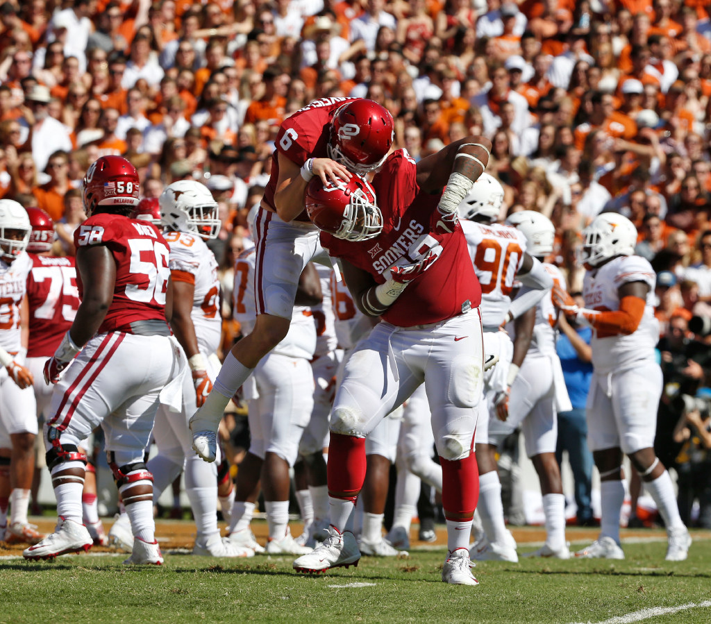 Projecting the 2018 NFL draft: Could the Sooners have afirst-round pick? Where could Baker Mayfield go?