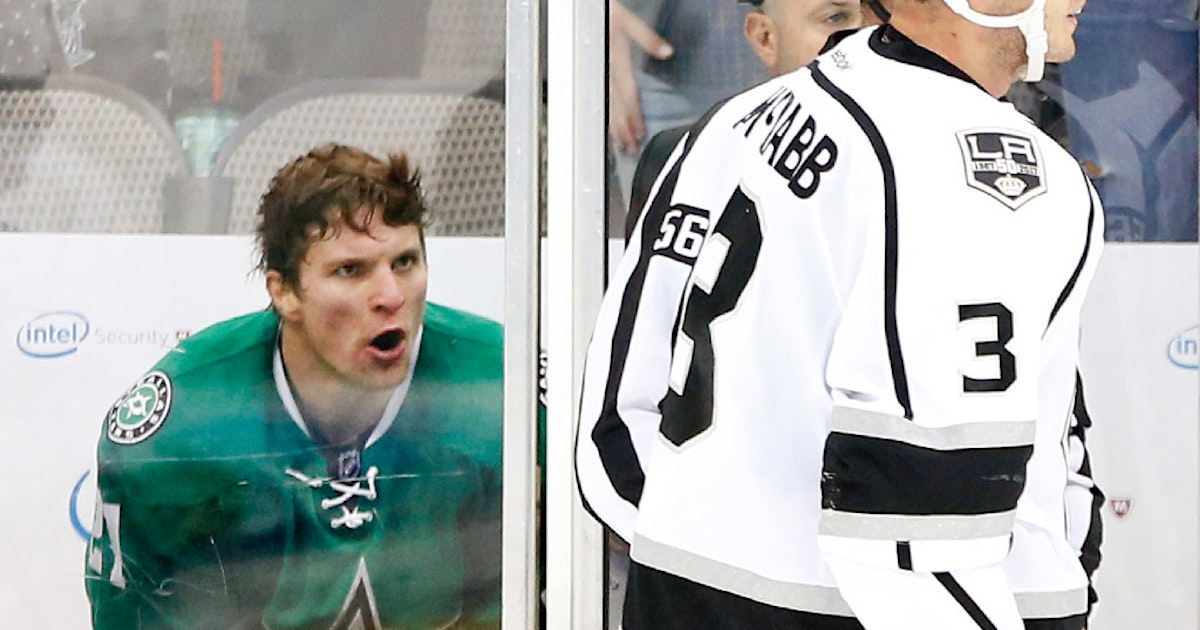 Dallas stars bubble players is the emotion of antoine for Interieur sport antoine roussel