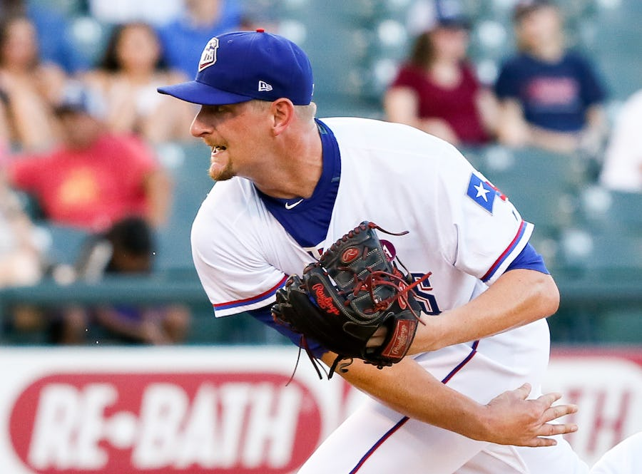 image of Austin Bibens-Dirkx pitching