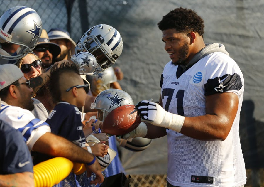 Jon Machota: Cowboys player with the most potential? Here's my pick