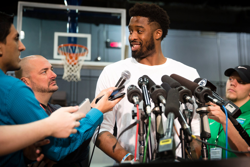 10 Things You May Not Know About Mavs Wesley Matthews Including His Love For Iron Man His Scary Injury And More