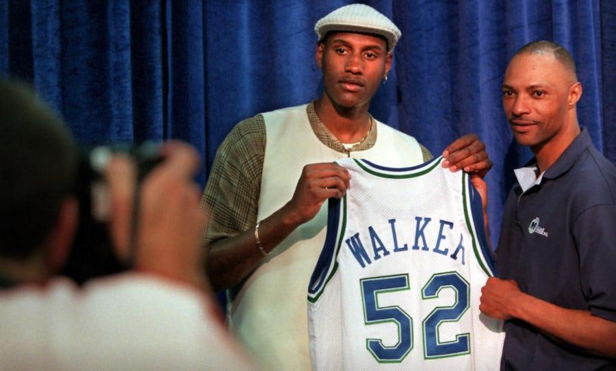 Mavs draft regrets of 1990s: Remember when Dallas took Samaki Walker over Kobe Bryant?