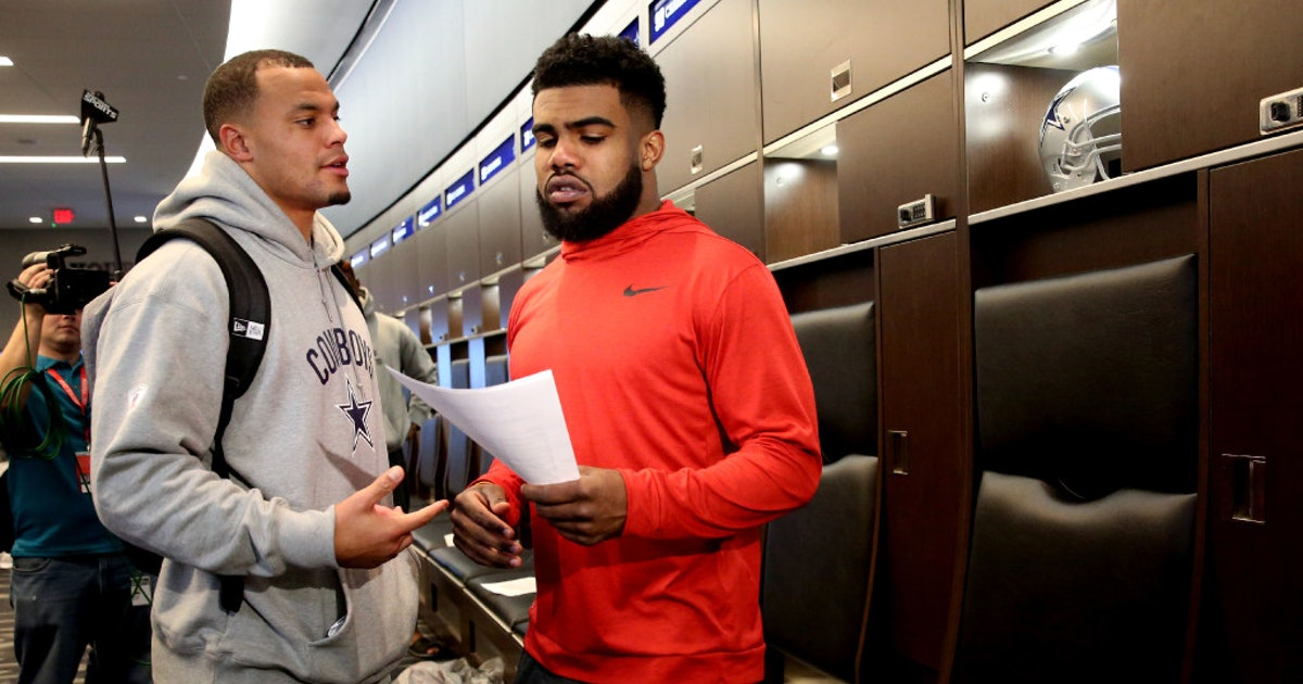 Dallas Cowboys Dak Prescott Locker Room