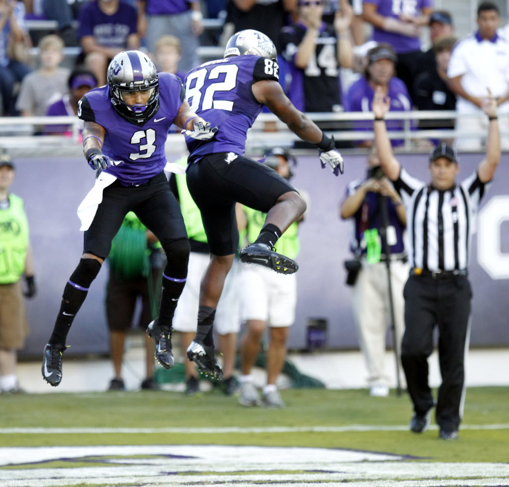 6348ac736 College Sports  The 5 greatest WRs in TCU history  Where does recent star Josh  Doctson stand