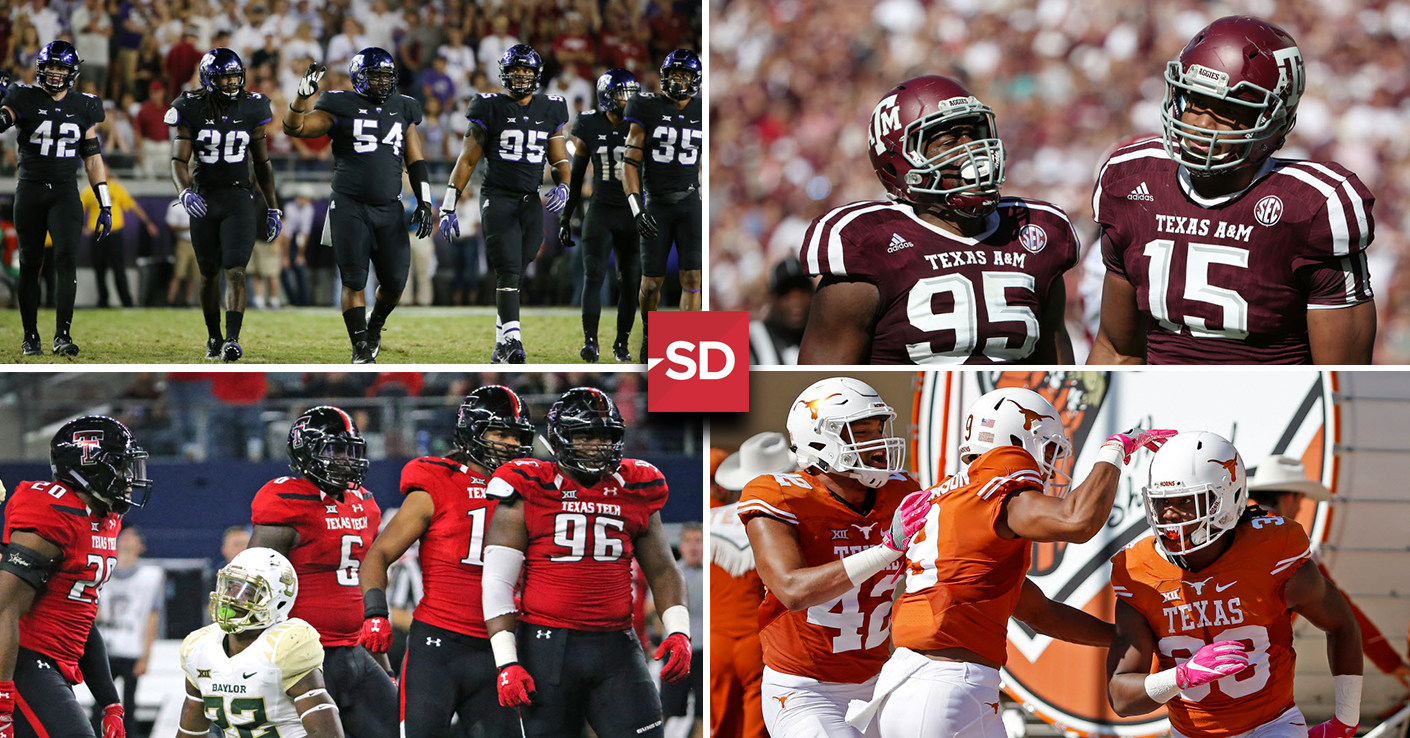 College Sports  Best in Texas  Which college football uniform is the best    f72f089cb