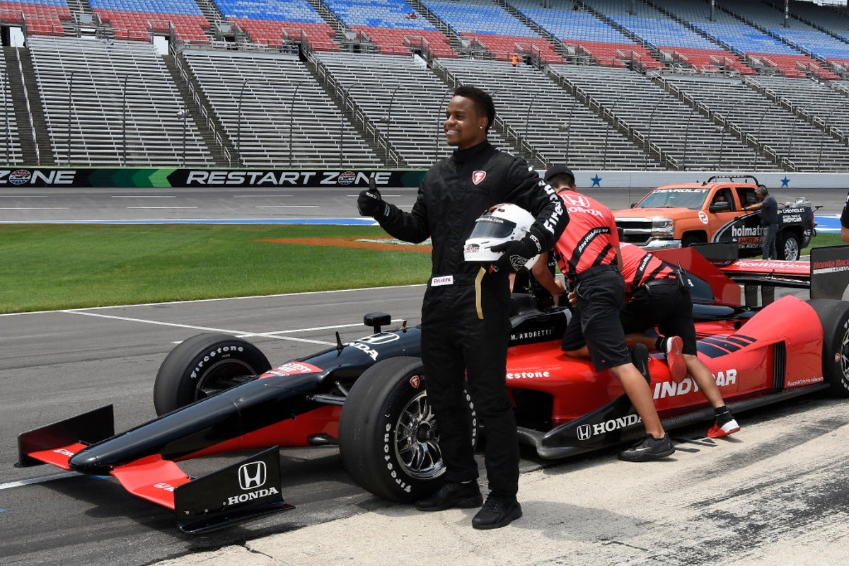 Mario Andretti Net Worth >> Other Sports: Fast breaks are one thing, but Mavs PG Yogi Ferrell goes 'crazy' fast as IndyCar ...