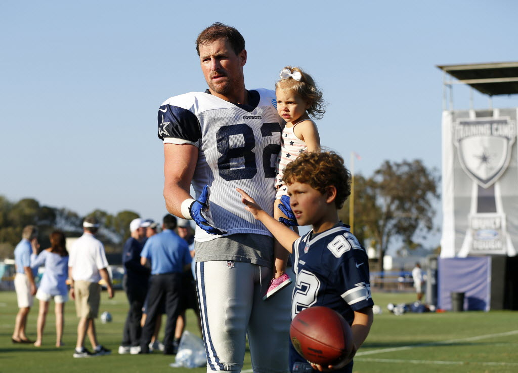 Dallas Cowboys What Fathers Day Means This Year For Jason Witten