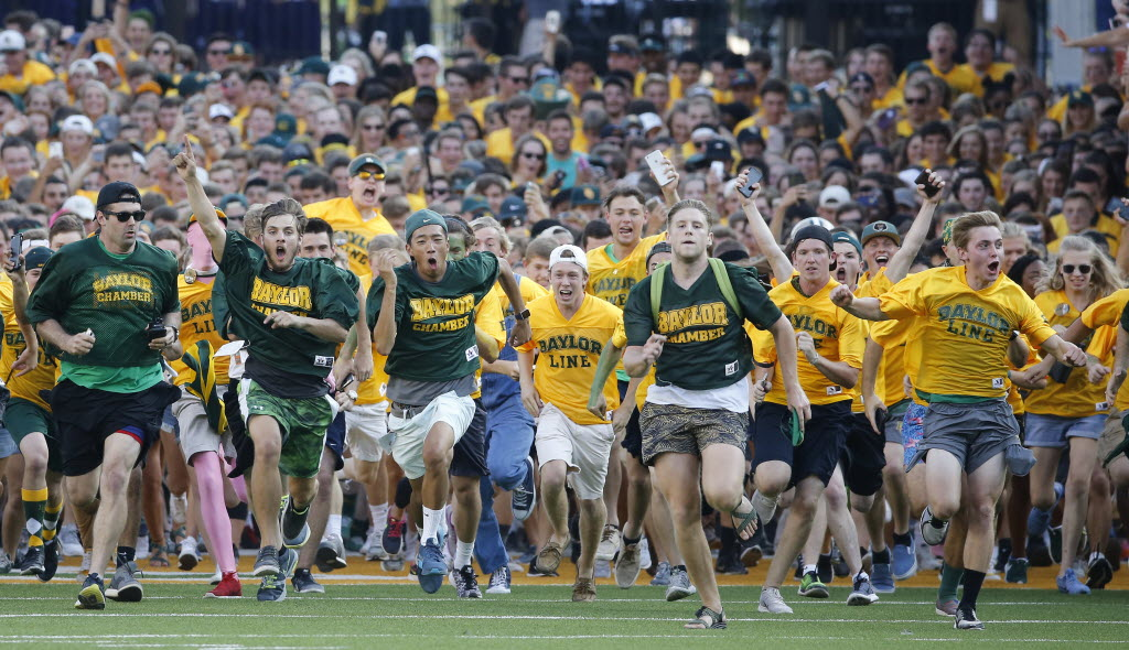 Why Baylor's running the line tradition is so special for the students on campus