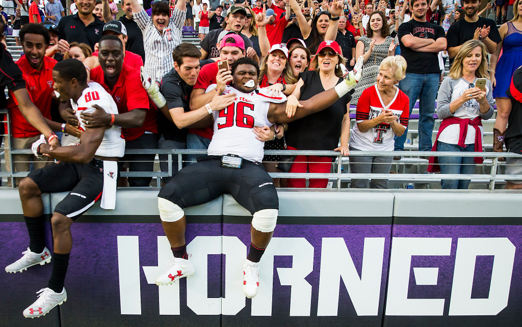 Who are the five biggest rivals in Texas Tech sports?