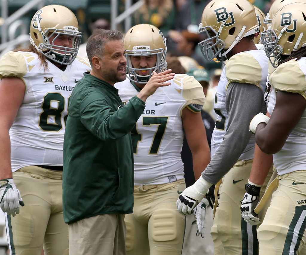 5 Baylor storylines to watch in Matt Rhule's first season, including a seat to fill at QB