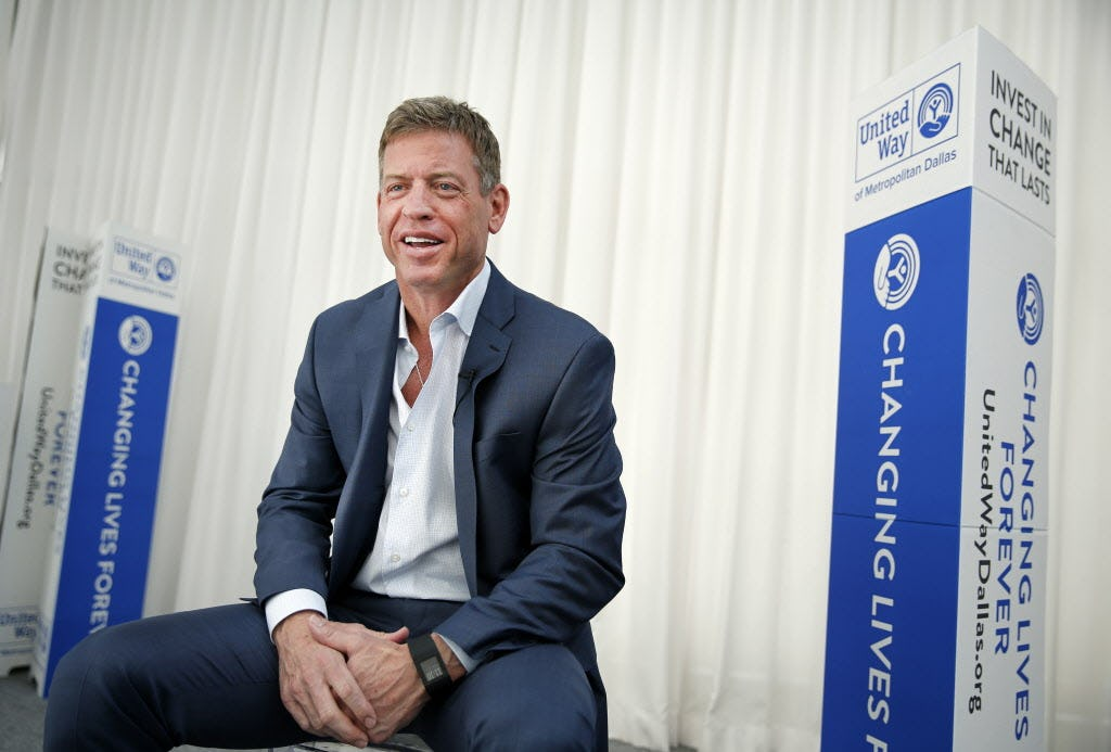 10 things you might not know about Cowboys QB Troy Aikman: From a Simpsons cameo to Joe Buck