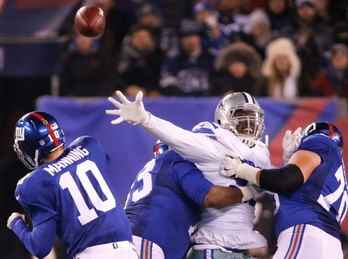 Eli Manning 2017 Stats >> Dallas Cowboys: Cowboys player profiles: Dallas looking for more from DT Cedric Thornton in his ...
