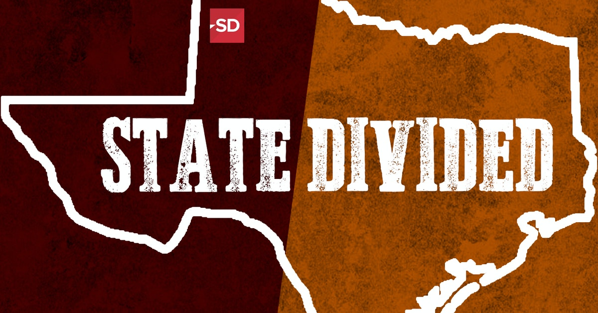 Texas divided