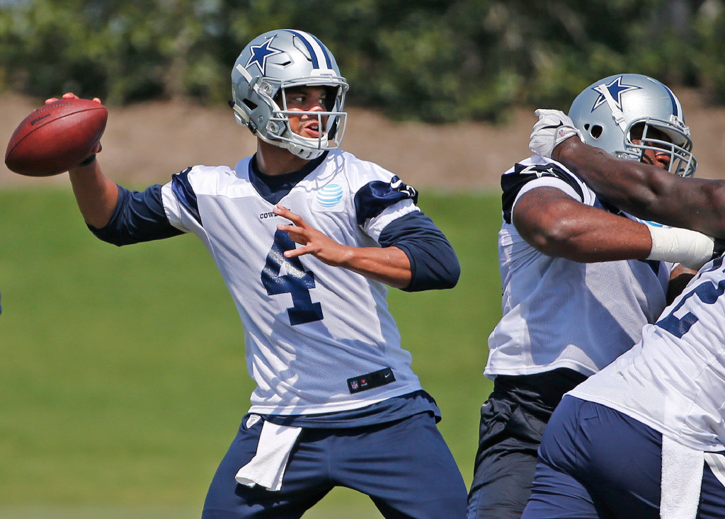 Cowboys QB Dak Prescott a 'system' player? If so, it's clearly a successful one