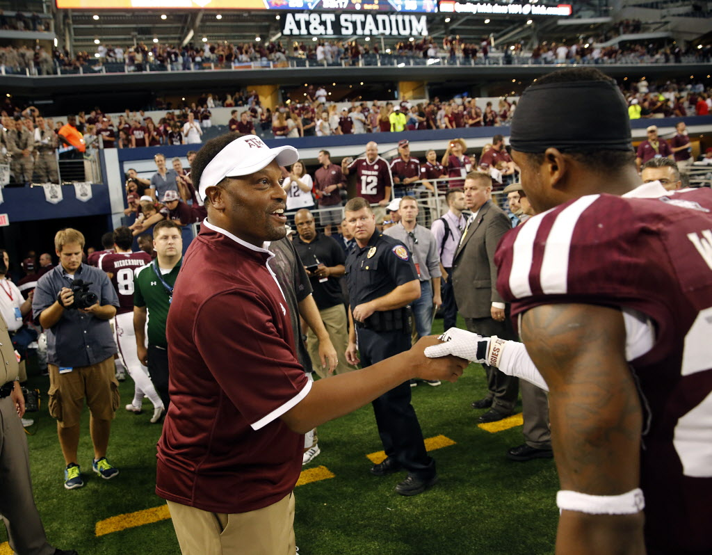 Texas A&M's Christian Kirk, Armani Watts are playing for Kevin Sumlin as coach sits on the hot seat