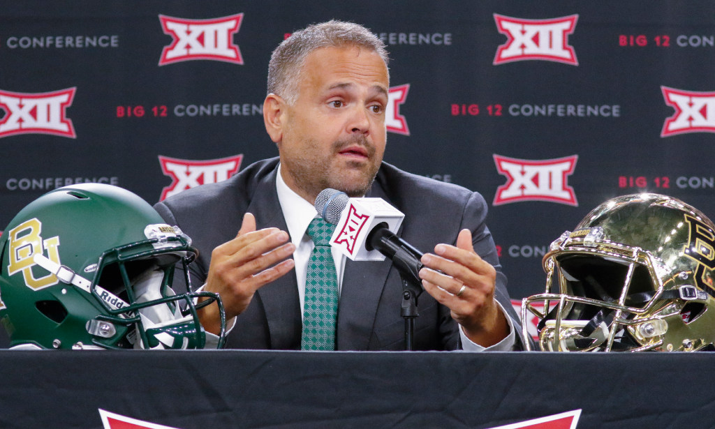 New Baylor coach Matt Rhule: Teamembracing 'youth movement' on offense