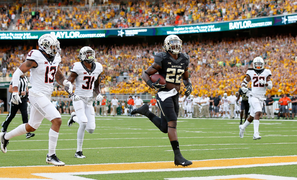 Baylor RB Terence Williams could be out until Big 12 play with shoulder injury