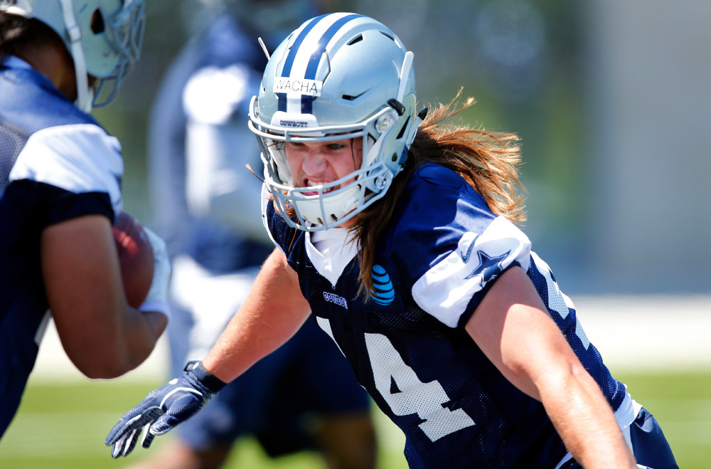 Undrafted free agent Lucas Wacha could be the Cowboys' answer to a serious weakness