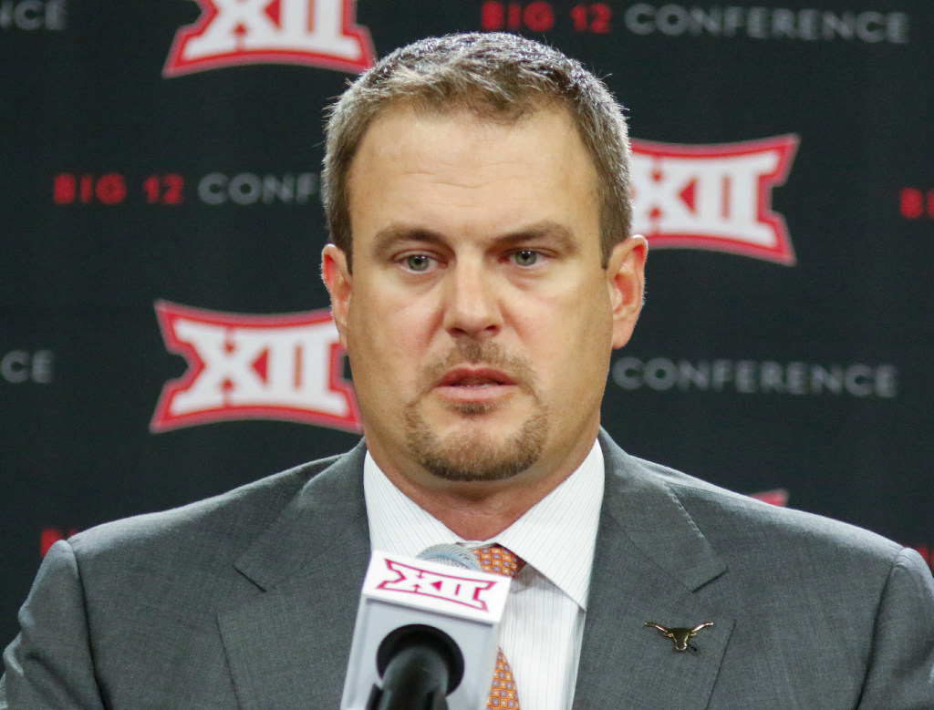 Mosley's Big 12 media days thoughts: Tom Herman takes shots at Charlie Strong, but here's what he's missing