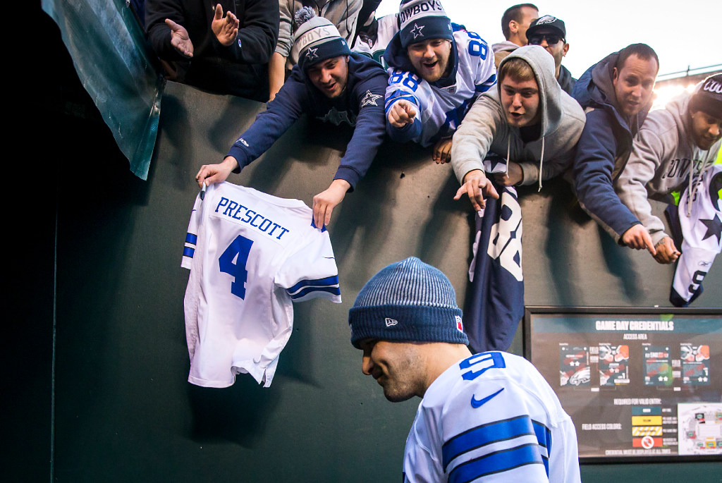 Jerry Jones is adjusting surprisingly well to first training camp without Tony Romo since 2002