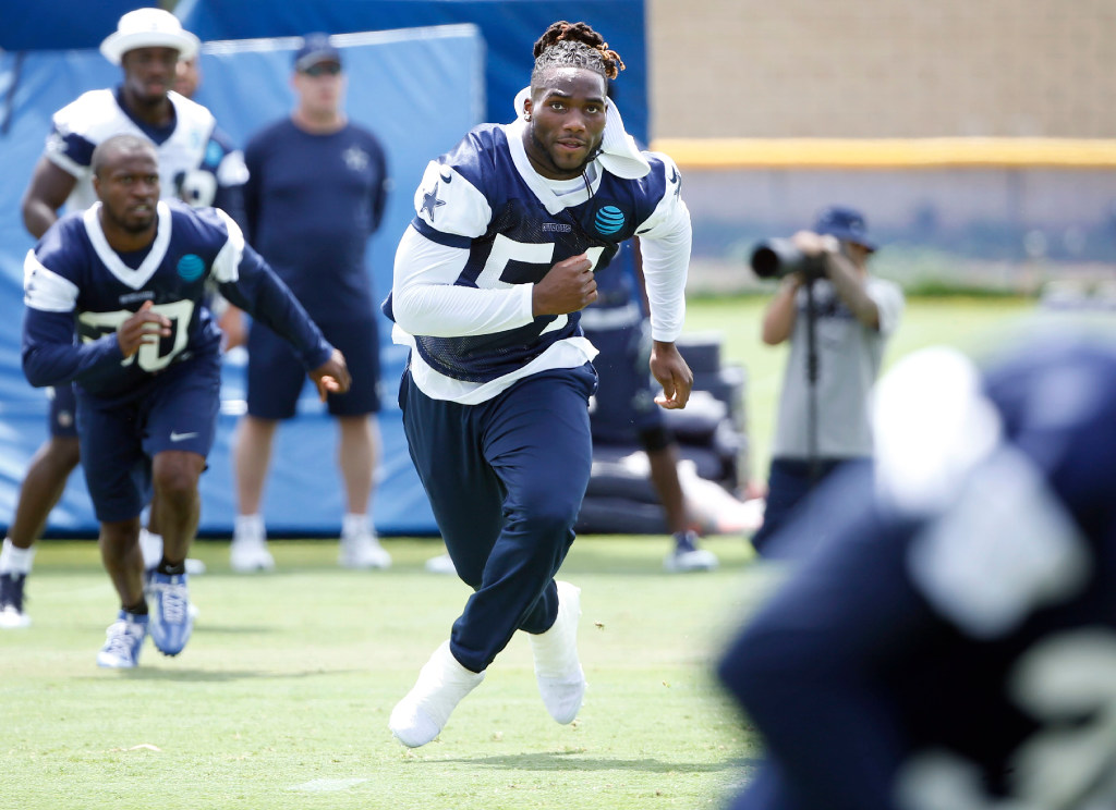 Cowboys LB Jaylon Smith expects 'constant growth' as he begins first training camp