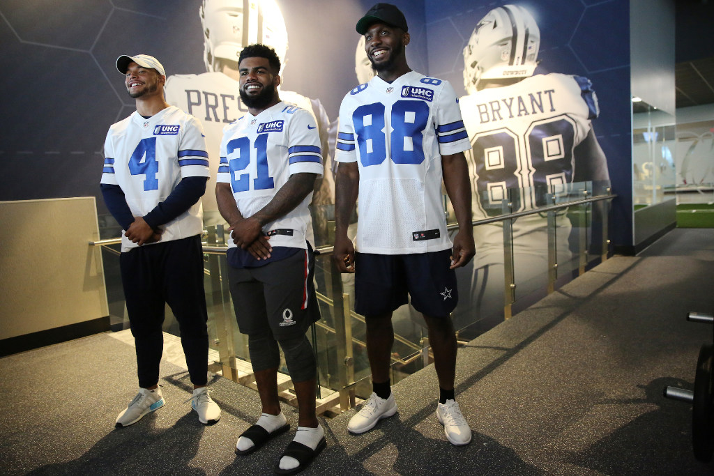 Dez Bryant not expecting Ezekiel Elliott to be suspended by NFL