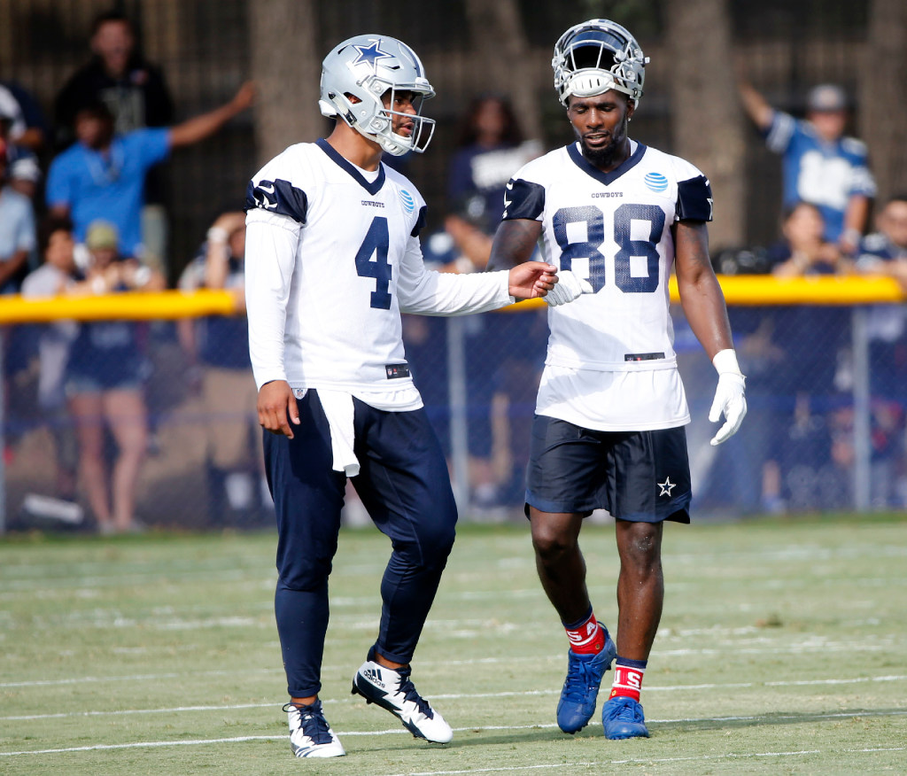 Dez Bryant growingtired of the Tony Romo questions; 'This is Dak's team'