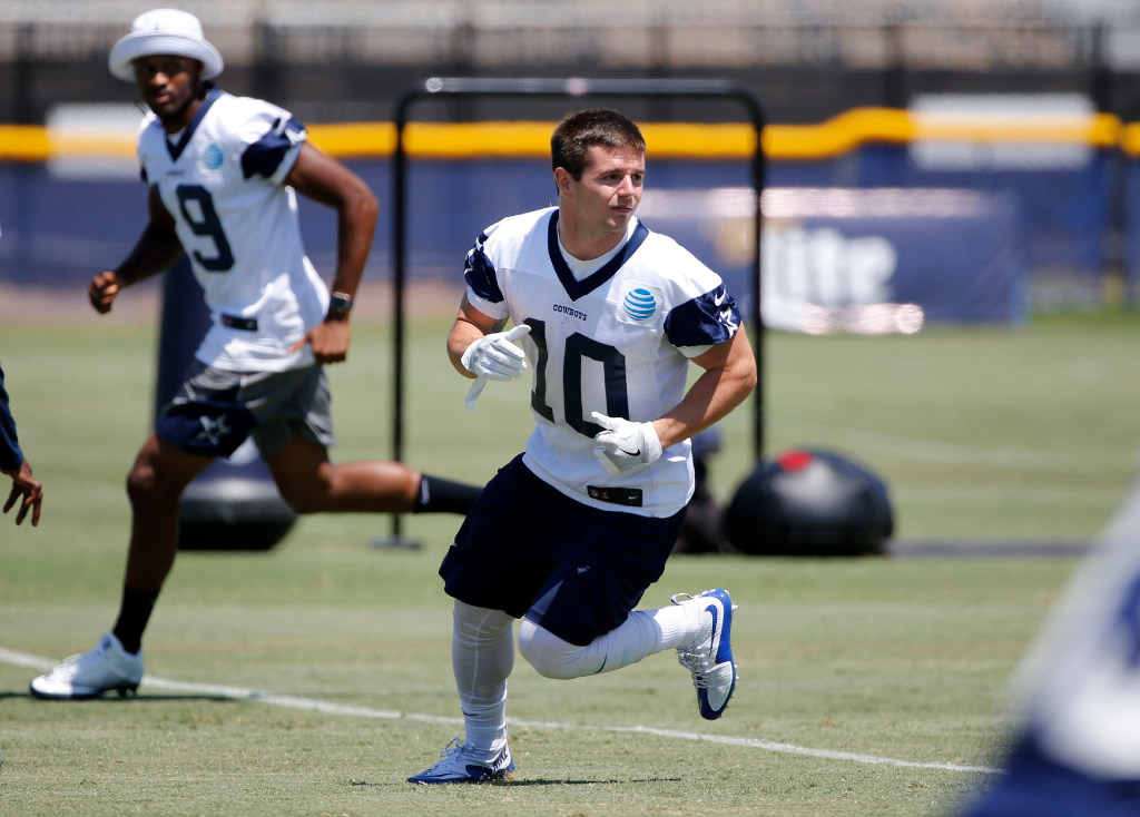 Bursting with confidence: Cowboys rookie Ryan Switzer not one for humble brags