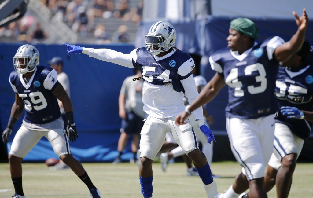 'He's impressed me in every single way': An inside look at Jaylon Smith's first padded practice