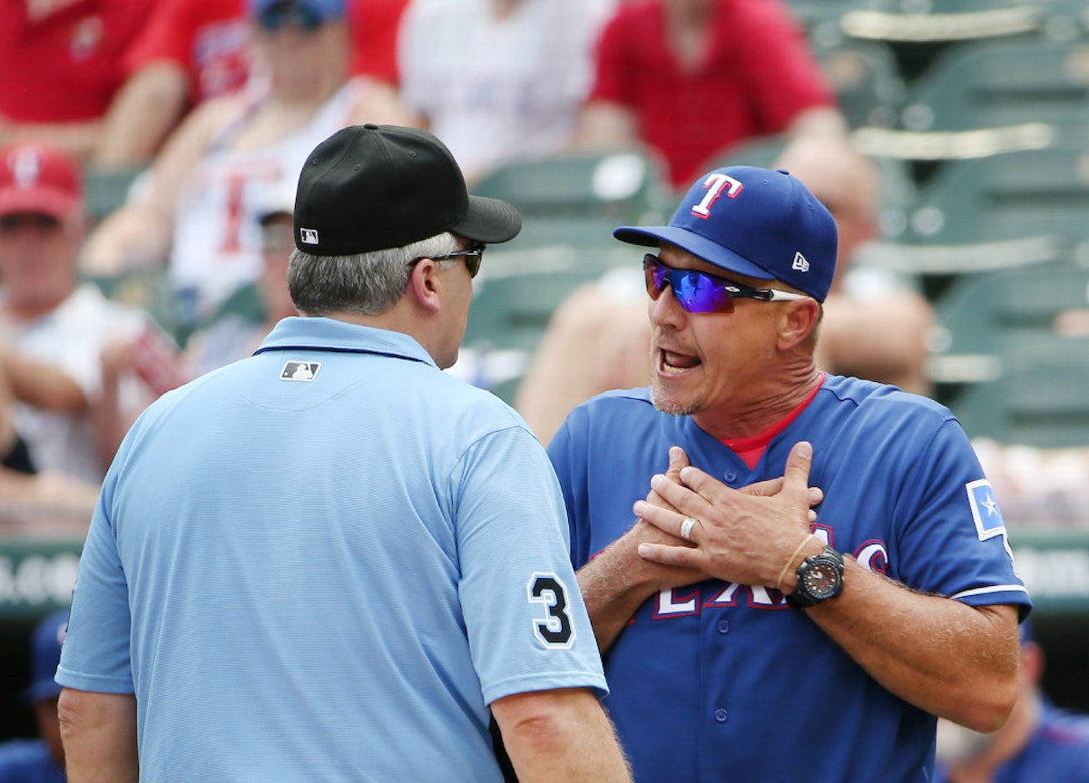 Texas Rangers: Why ejection of Rangers' Jeff Banister vs ...