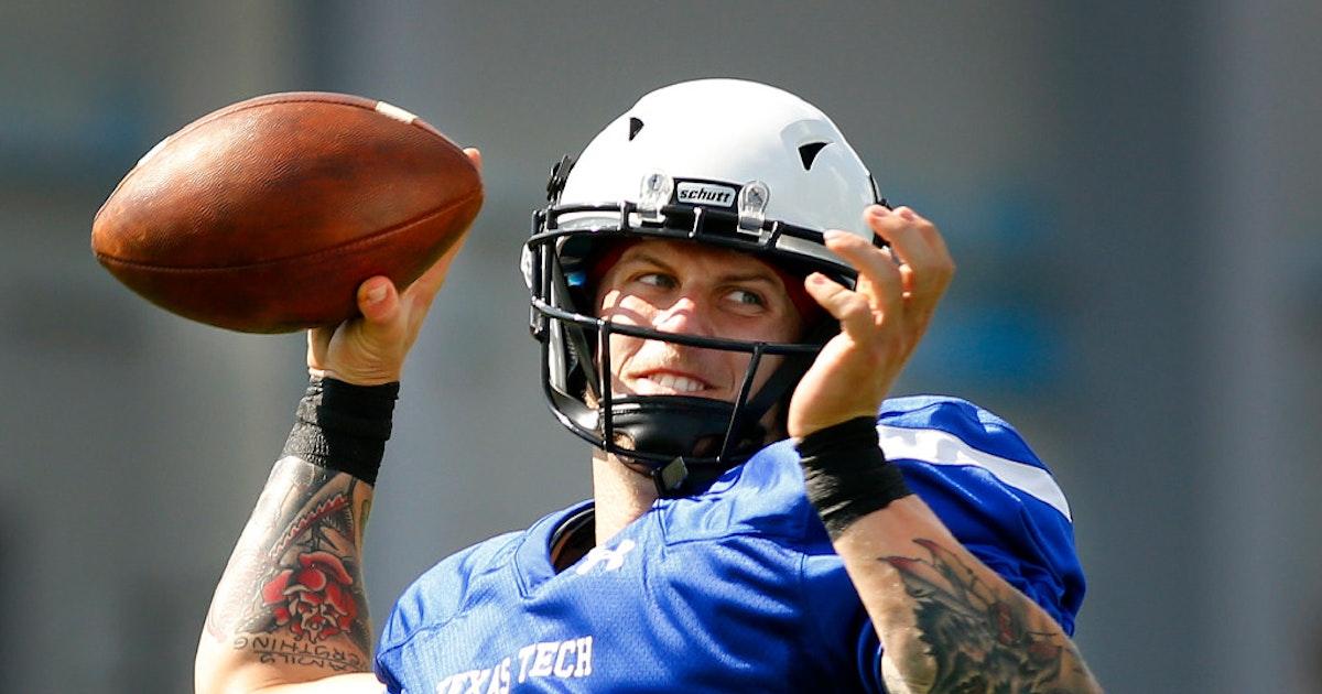 College Sports Texas Tech S New Quarterback Can Restore
