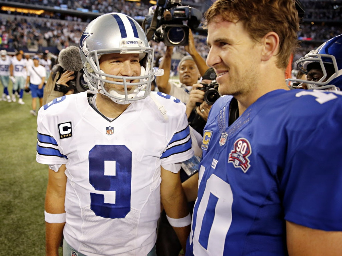 Eli Manning 2017 Stats >> Dallas Cowboys: How many Cowboys QBs have started a game since Eli Manning's 200-game stretch ...