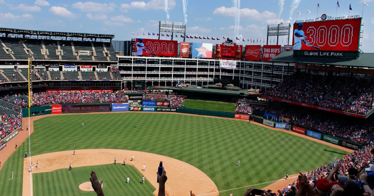 Texas Rangers Rangers Notebook 2018 Schedule Revealed
