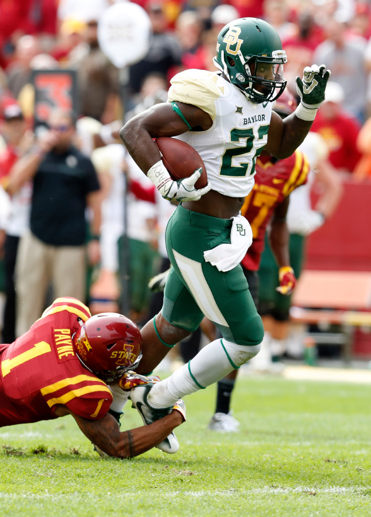 Matt Rhule hints at Baylor RB Terence Williams returning for Oklahoma game