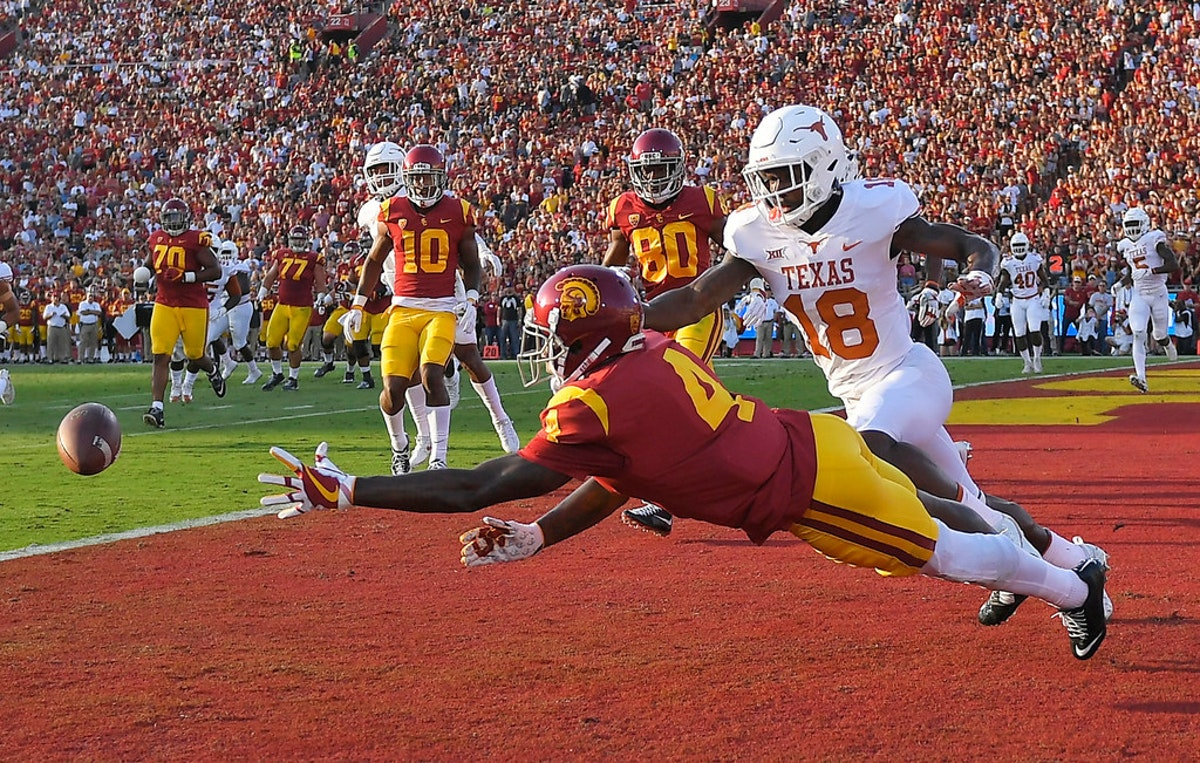 'A lot of tears, a lot of sorrow, a lot of dejection' follow after Texas' hopes of upsetting USC fall apart