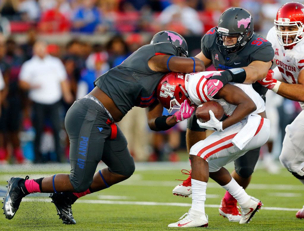 SMU DT Demerick Gary won't miss time after knee injury against TCU