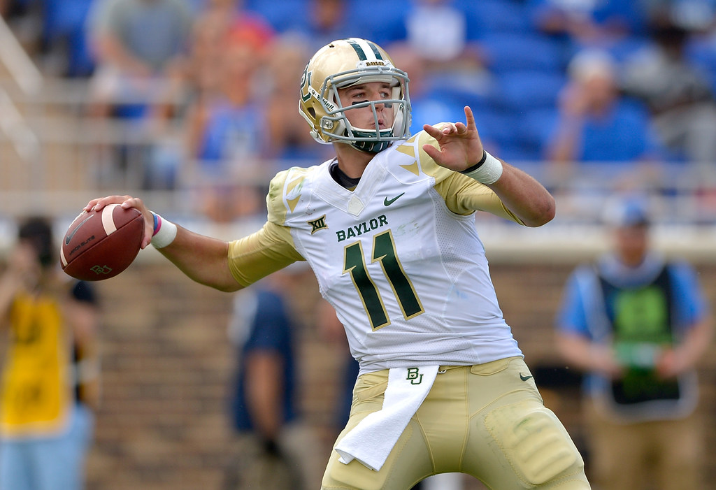 Watch: Baylor QB Zach Smith airs it out for 71-yard touchdown