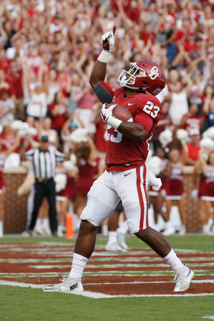Oklahoma RB Abdul Adams leaves game vs Iowa State with ankle ...