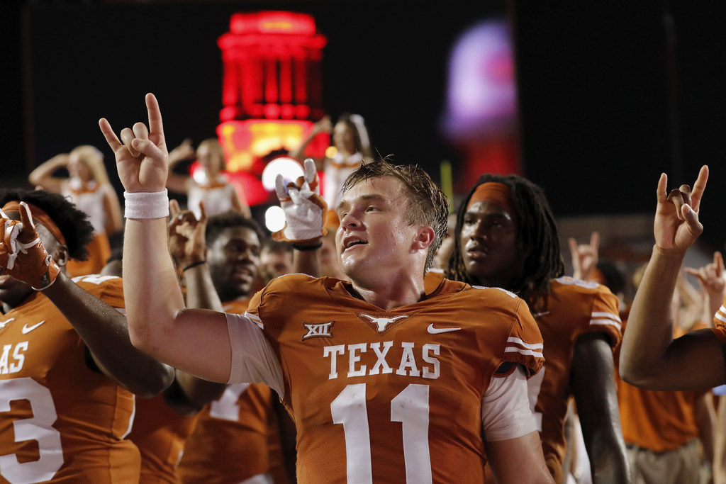 'I know he's watching': How family tragedy helped shape Longhorns QB Sam Ehlinger
