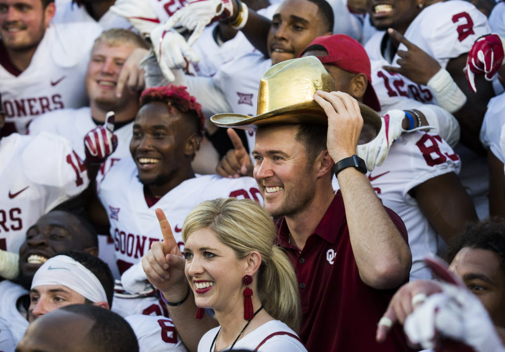 The Sooners kept the Big 12's CFP hopes alive by defeating Longhorns in epic fashion