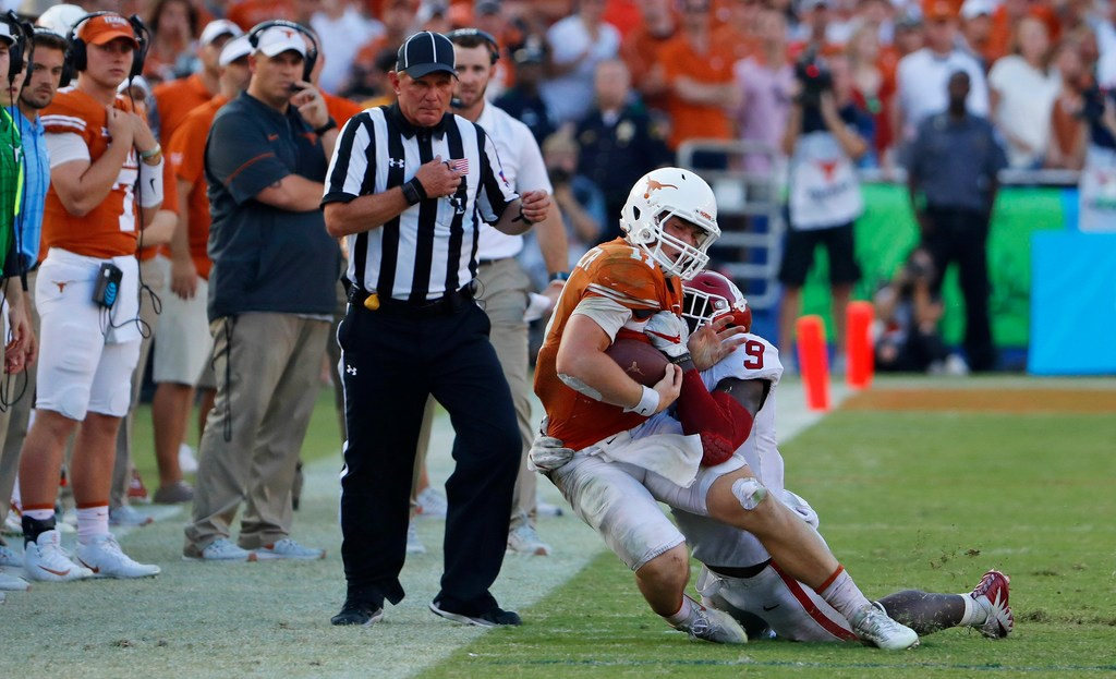 Concussion expert blasts Texas for putting Sam Ehlinger back in game after getting hit