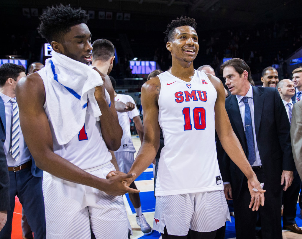 With new-look roster, Shake Milton, Jarrey Foster and Ben Emelogu provide stability for SMU
